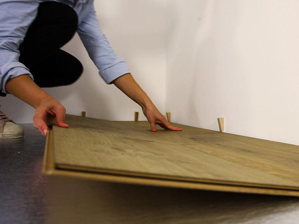 Lindura-Holzboden von Meister richtig verlegen