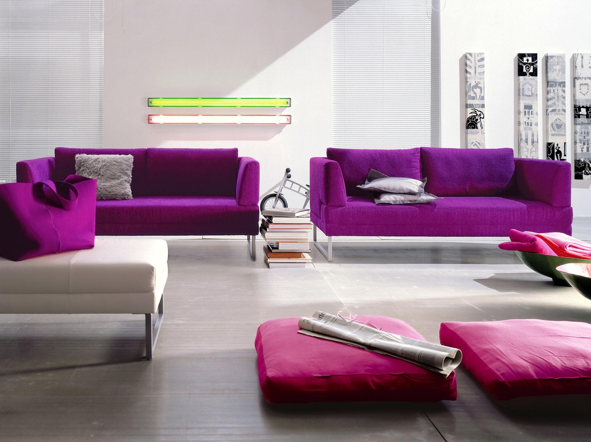 lila gekonnt eingesetzt zuhause wohnen. Black Bedroom Furniture Sets. Home Design Ideas