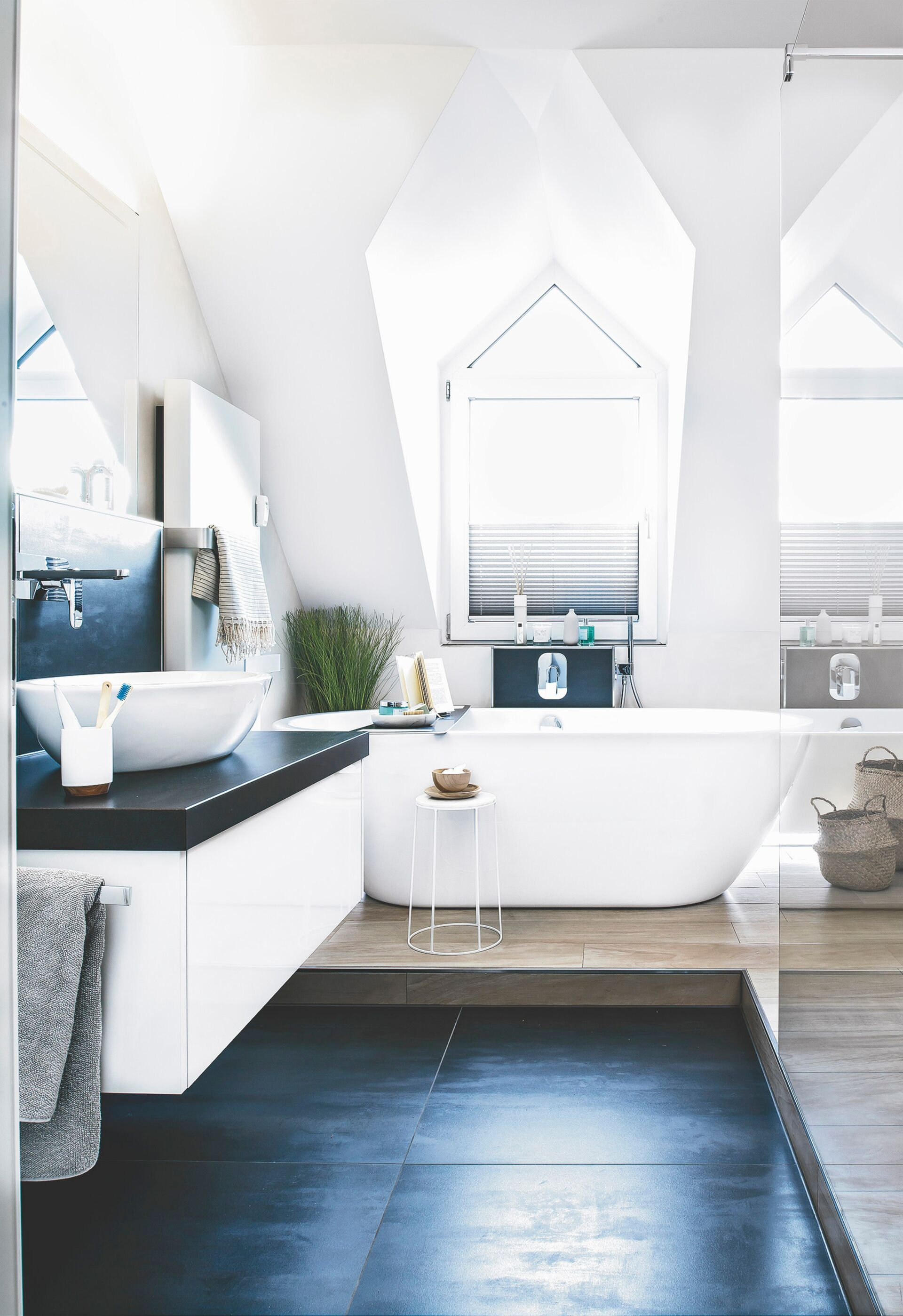 Moderne Fenstergestaltung Zuhausewohnen