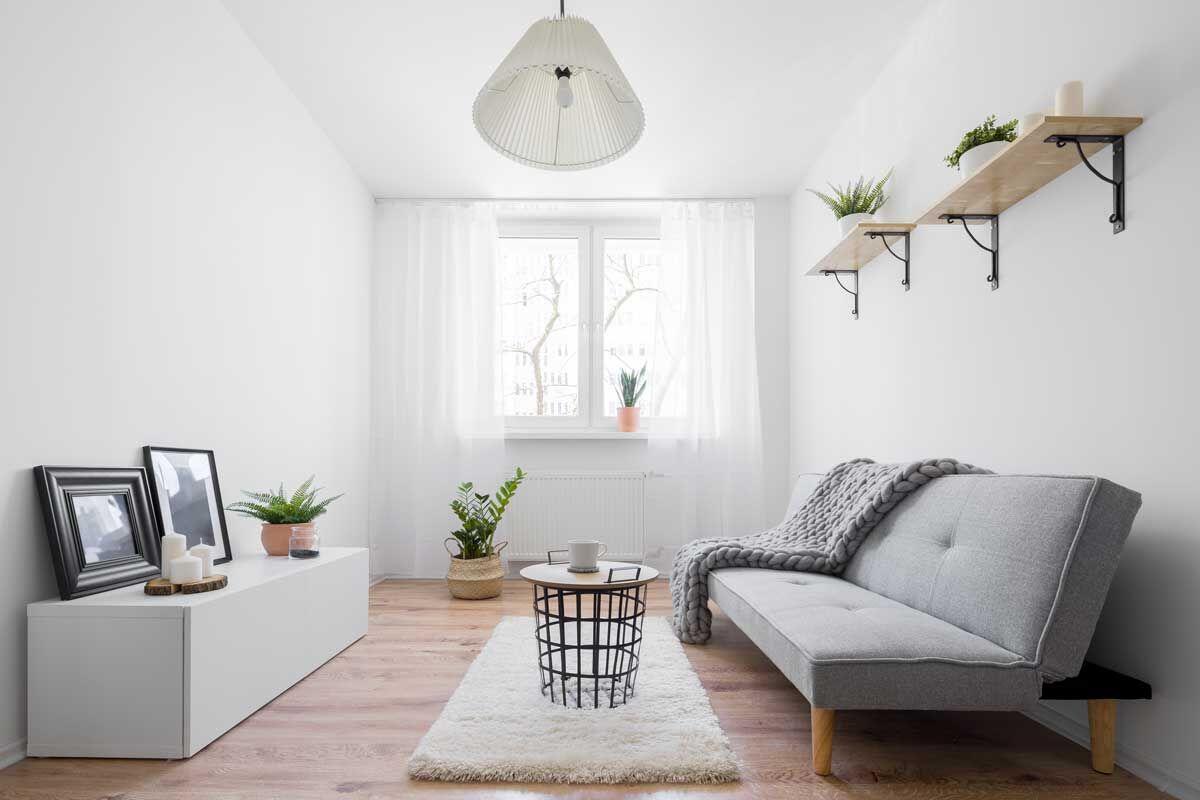 Schmale Räume optisch vergrößern: Einrichten, streichen und Deko