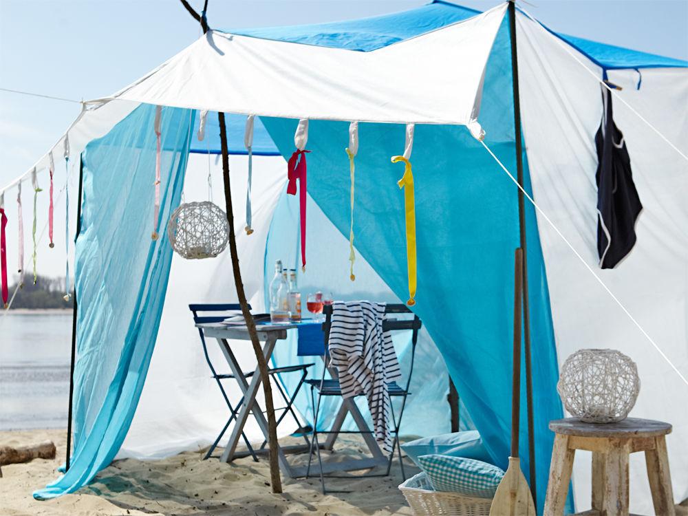 Luftiges Zelt