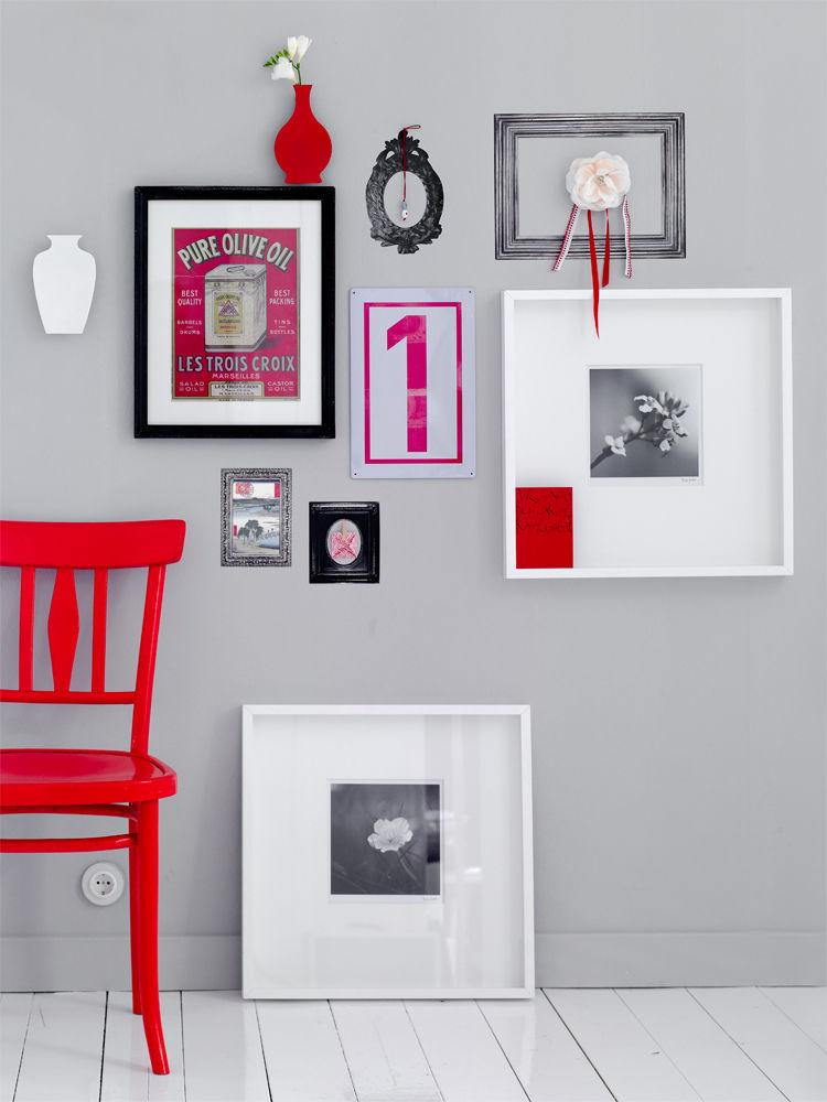 bilder richtig aufh ngen zuhause wohnen. Black Bedroom Furniture Sets. Home Design Ideas