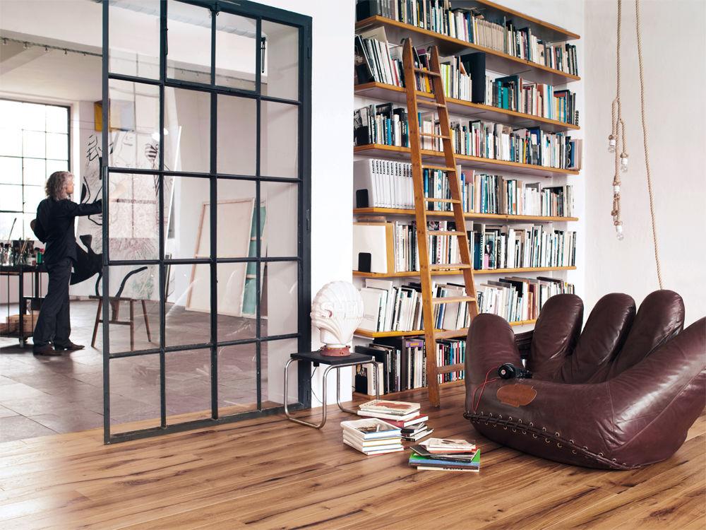 leben wie im loft zuhause wohnen. Black Bedroom Furniture Sets. Home Design Ideas
