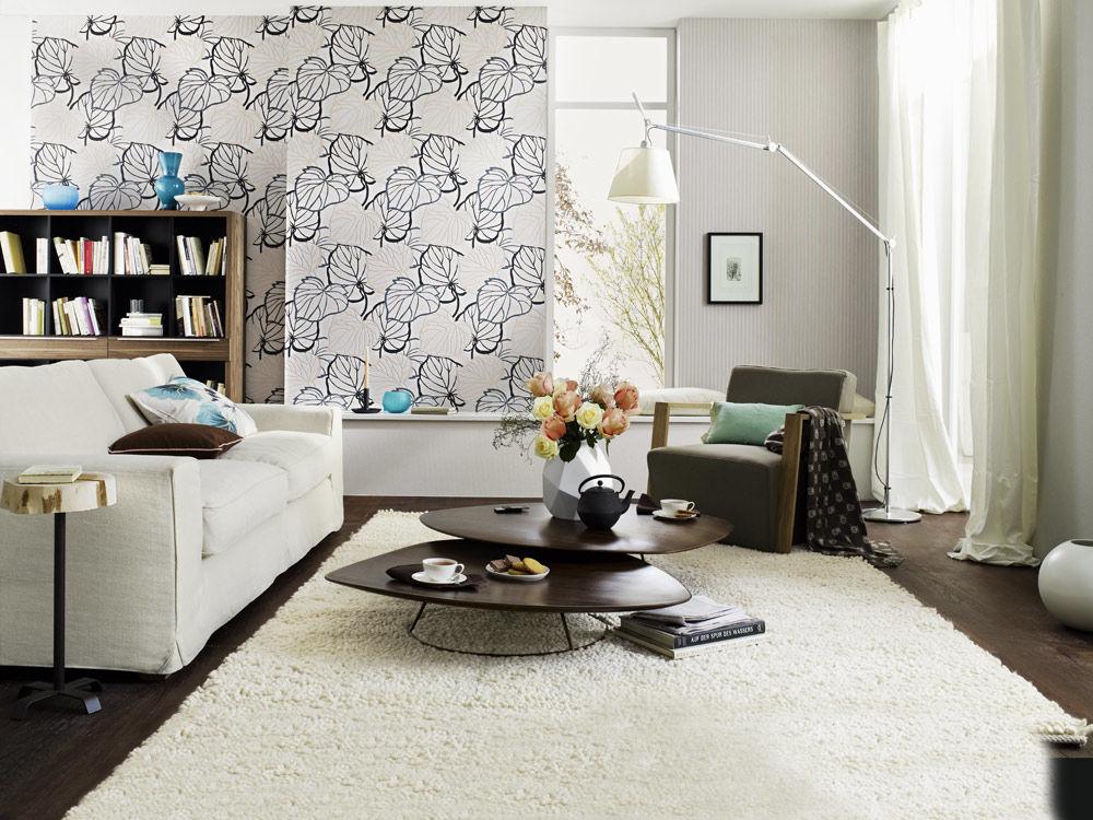 die neue tapetenkollektion von zuhause wohnen zuhause wohnen. Black Bedroom Furniture Sets. Home Design Ideas