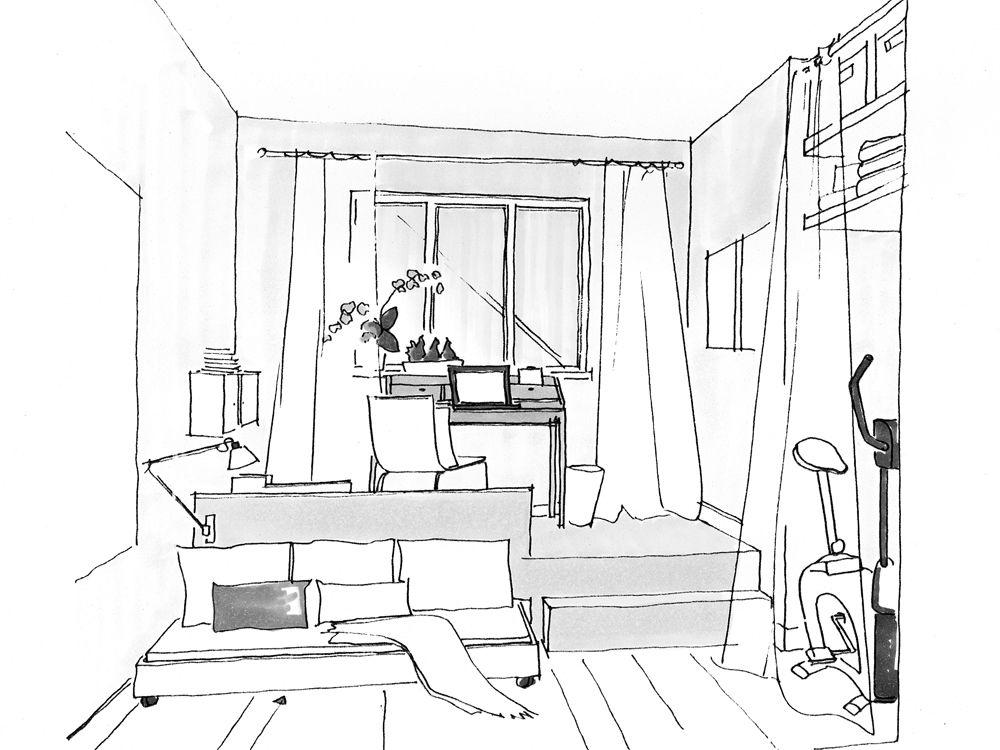Möbel für kleine Wohnungen | Zuhause Wohnen