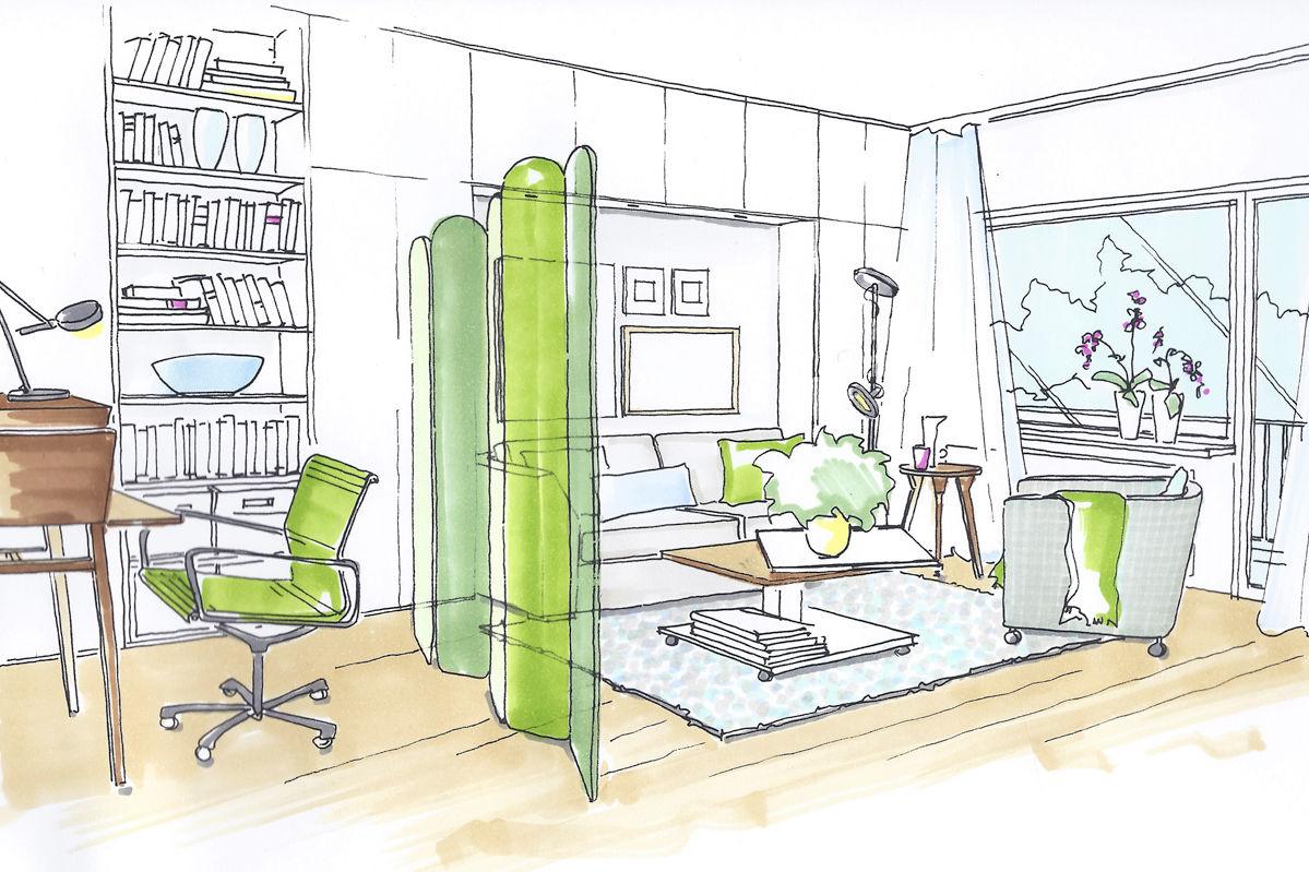 Funktional einrichten zuhause wohnen for Grundriss schlafzimmer einrichten