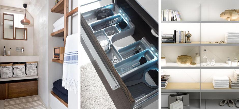12 tolle Ideen für mehr Ablage im Badezimmer