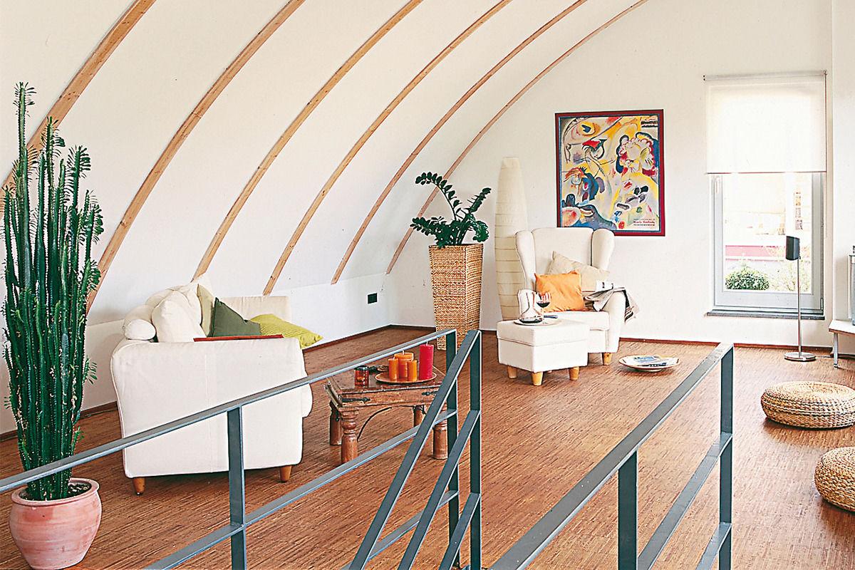 Ein Korkboden eignet sich gut als Bodenbelag für das Kinderzimmer