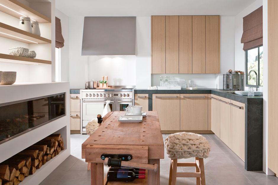 Landhaus Küchen leicht gestaltet