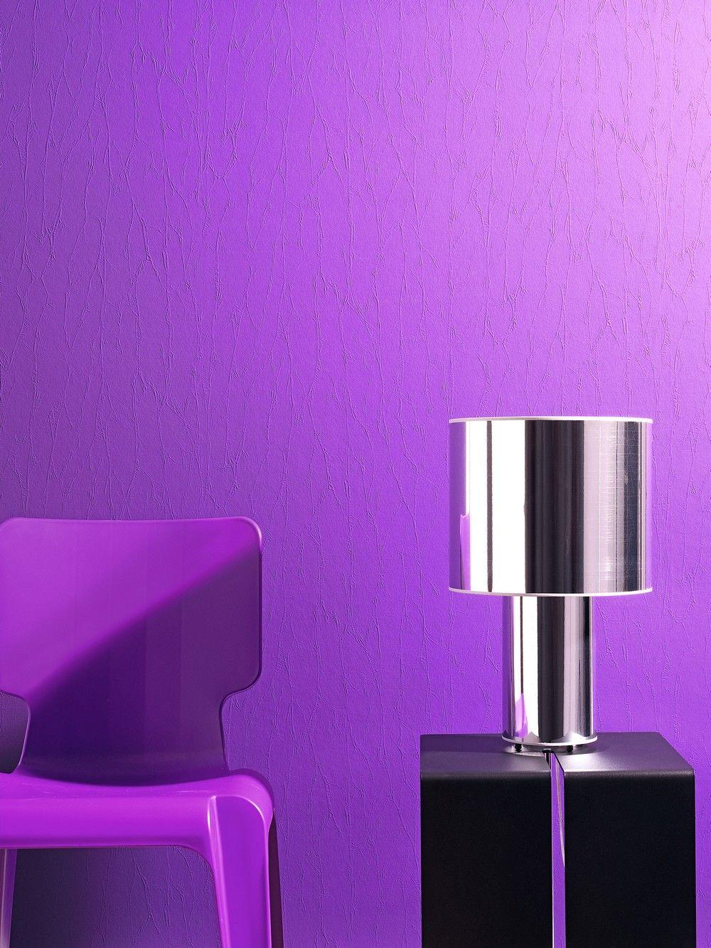 Lila gekonnt eingesetzt zuhause wohnen - Wandfarbe lila ...