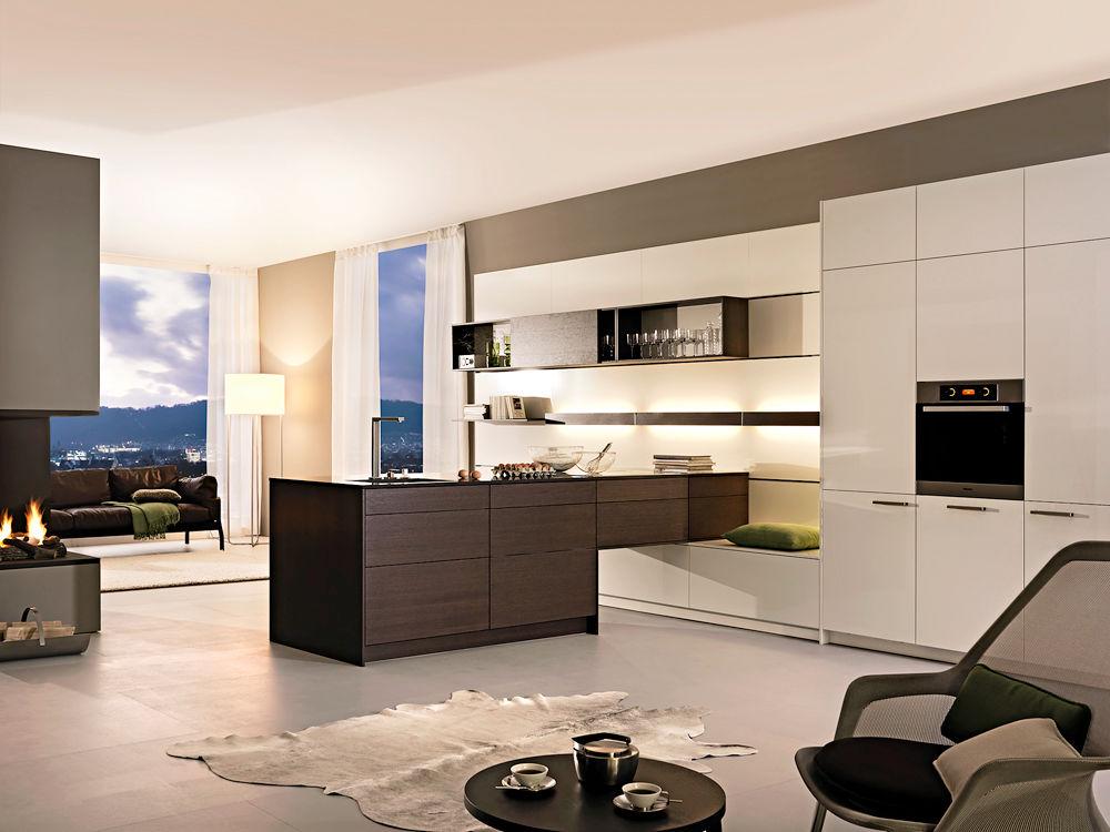 holzk chen mit wohnflair zuhause wohnen. Black Bedroom Furniture Sets. Home Design Ideas