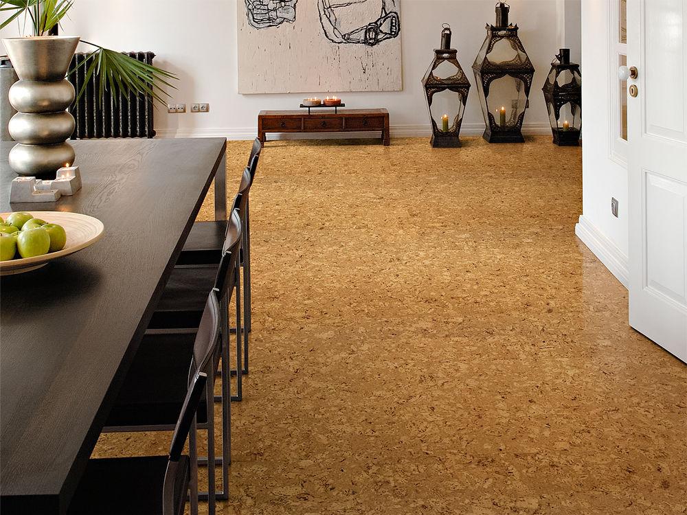 linoleum und kork zuhause wohnen. Black Bedroom Furniture Sets. Home Design Ideas