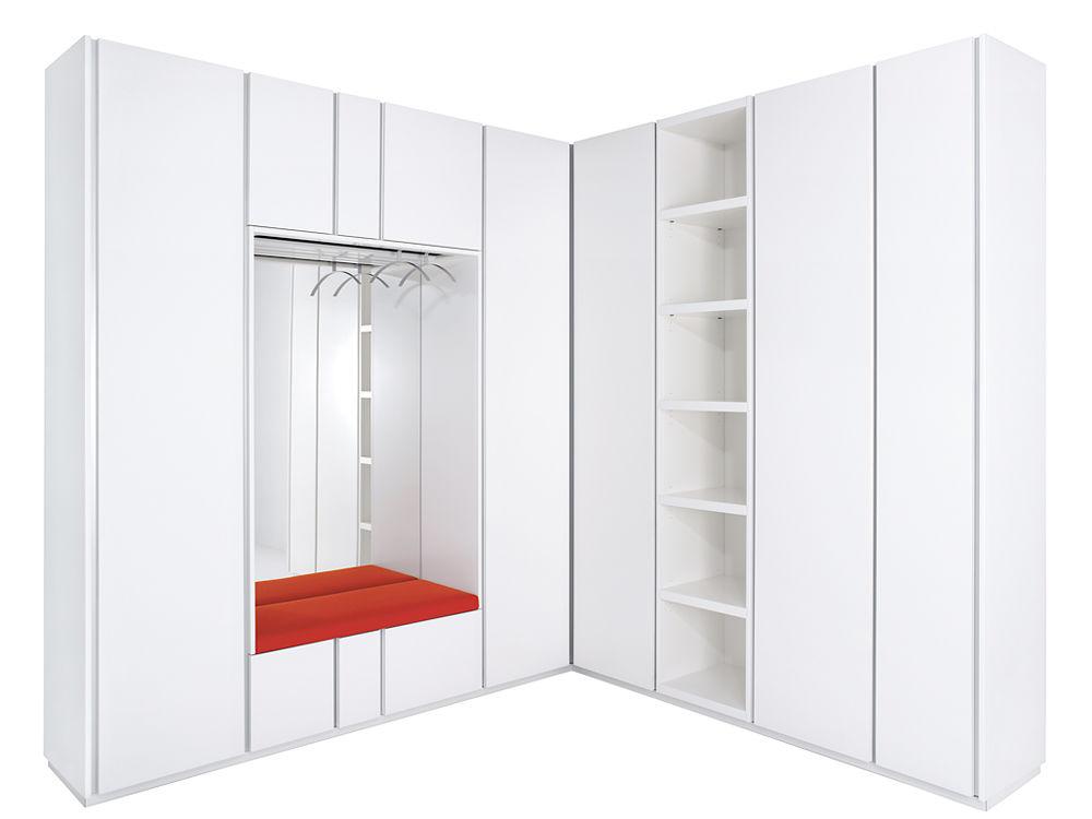 mehr stauraum im flur zuhause wohnen. Black Bedroom Furniture Sets. Home Design Ideas