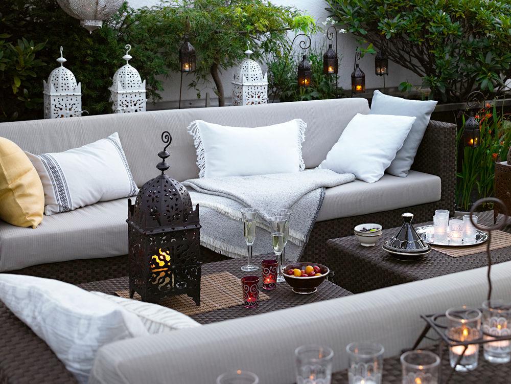 Terrasse orientalisch