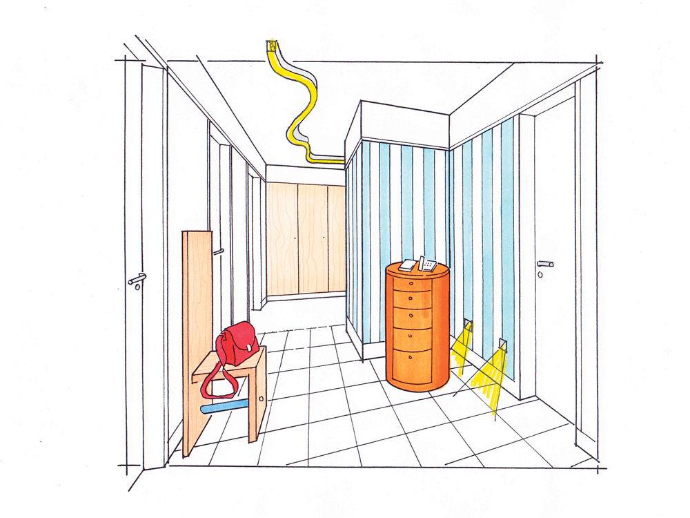problemfall flur zuhause wohnen. Black Bedroom Furniture Sets. Home Design Ideas