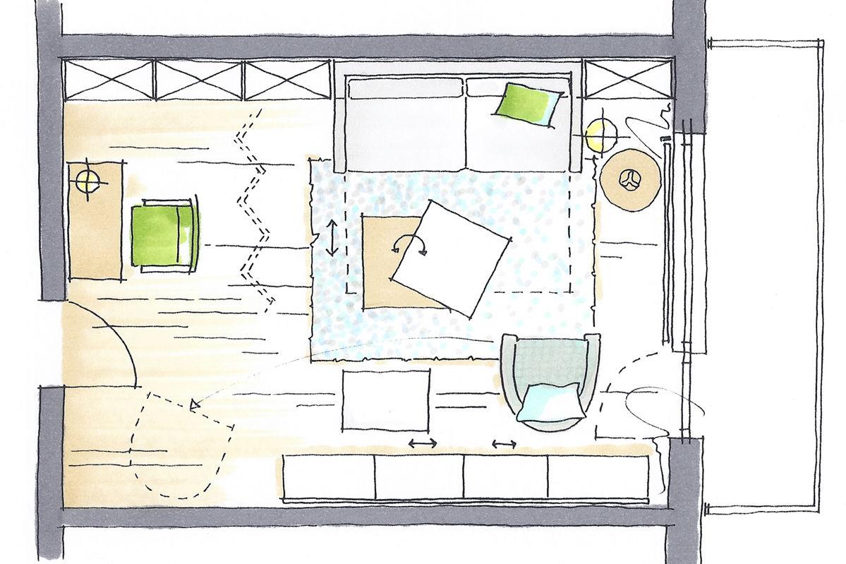 funktional einrichten zuhause wohnen. Black Bedroom Furniture Sets. Home Design Ideas