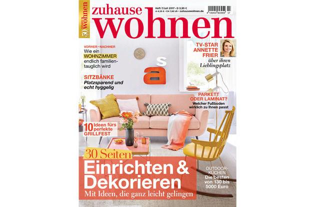 Cover Zuhause Wohnen 07/2017