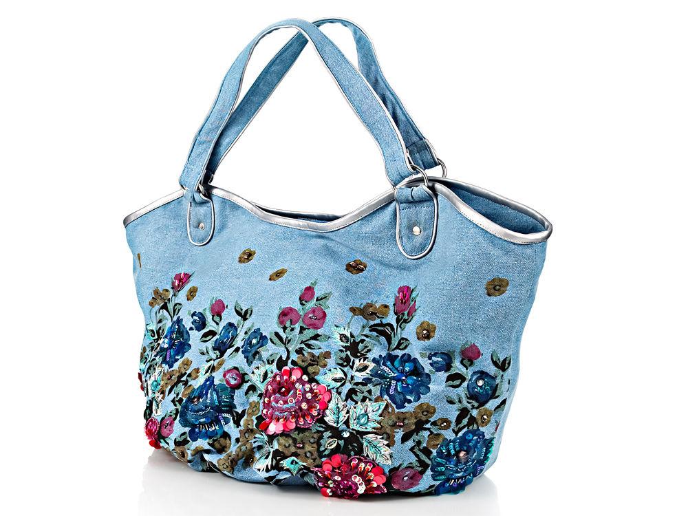 Сумки из джинсов.  Сумки, клатчи, чемоданы / Модный сайт о стильной переделке одежды и интерьера.