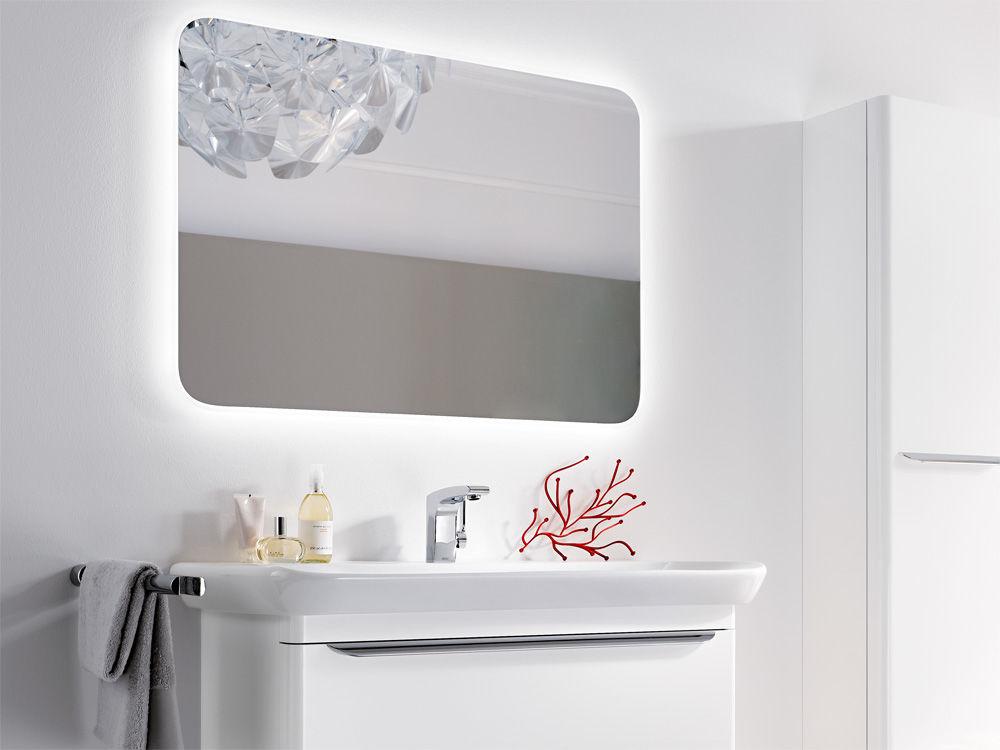 licht und schatten badezimmerspiegel zuhause wohnen. Black Bedroom Furniture Sets. Home Design Ideas