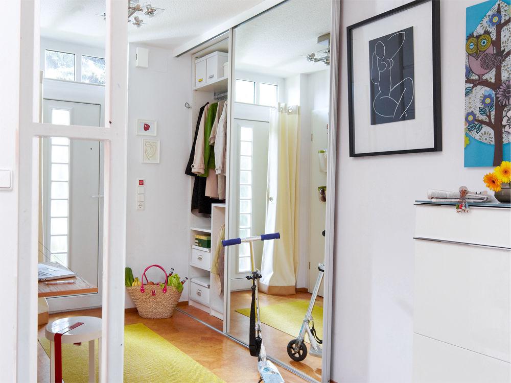 Ideen f r mehr platzgewinn zuhause wohnen for Garderobenschrank wand