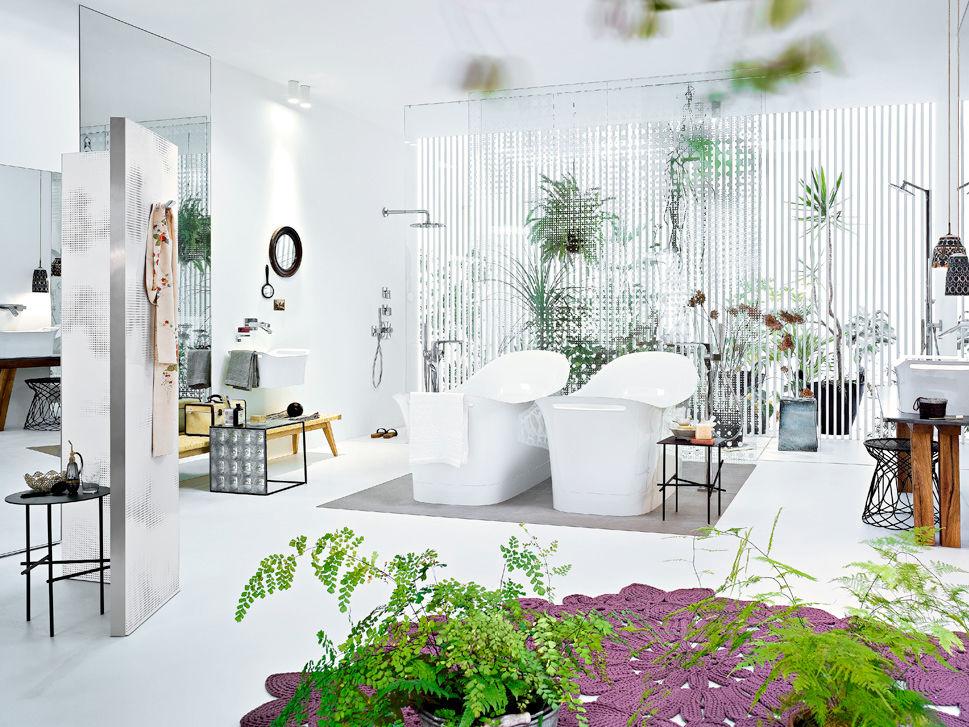 Aktuelle badtrends zuhause wohnen for Aktuelle trendfarben wohnen