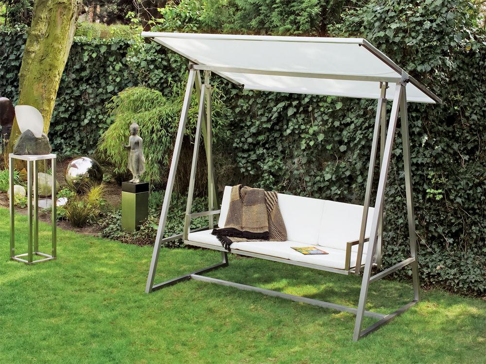 edelstahl gartenmobel lizzy heinen, outdoor-möbel | zuhausewohnen, Design ideen