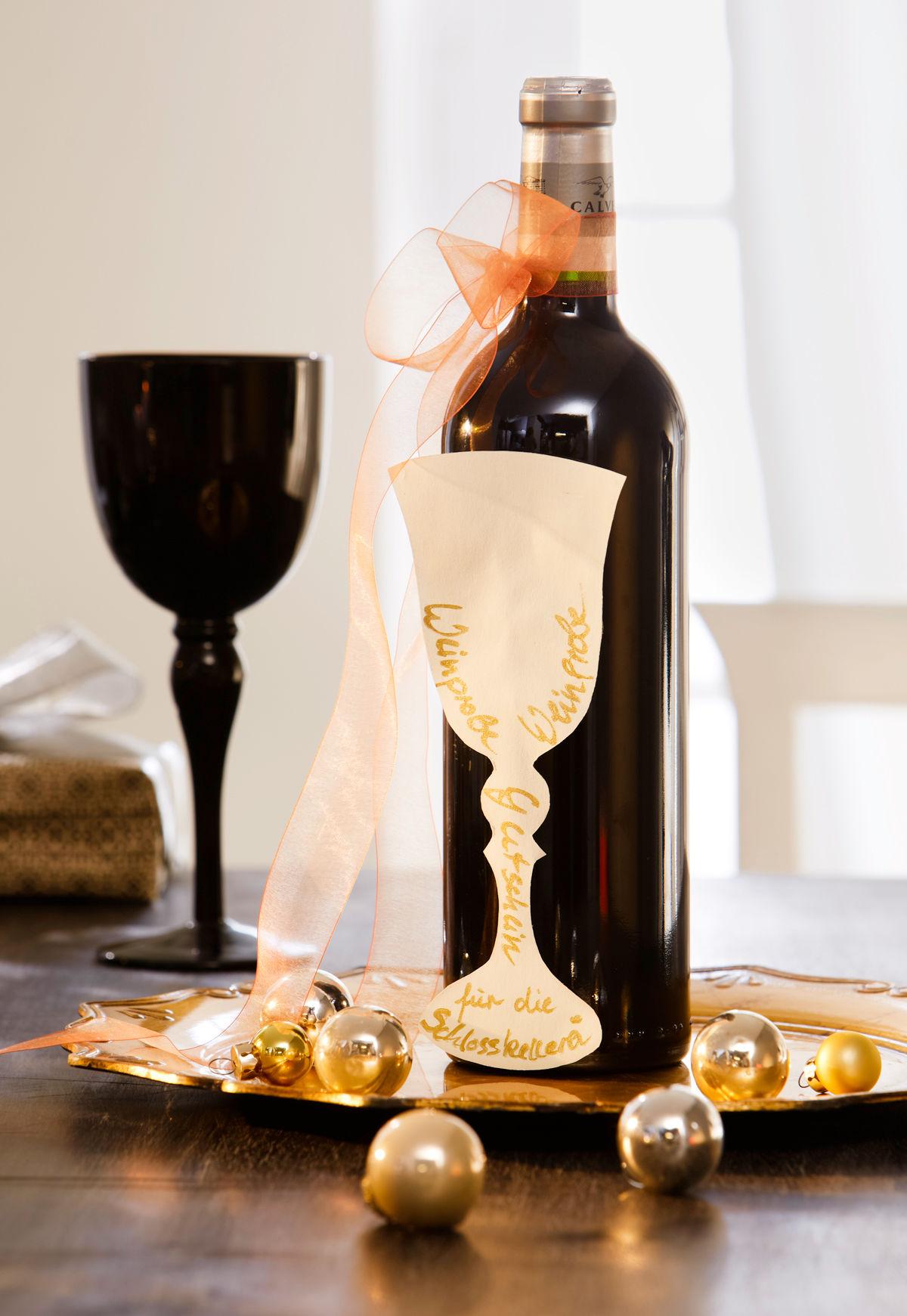 Weinglas Gutschein