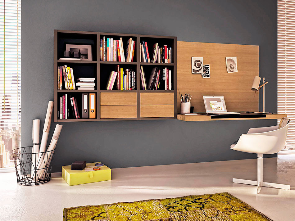 schreibtische zuhause wohnen. Black Bedroom Furniture Sets. Home Design Ideas