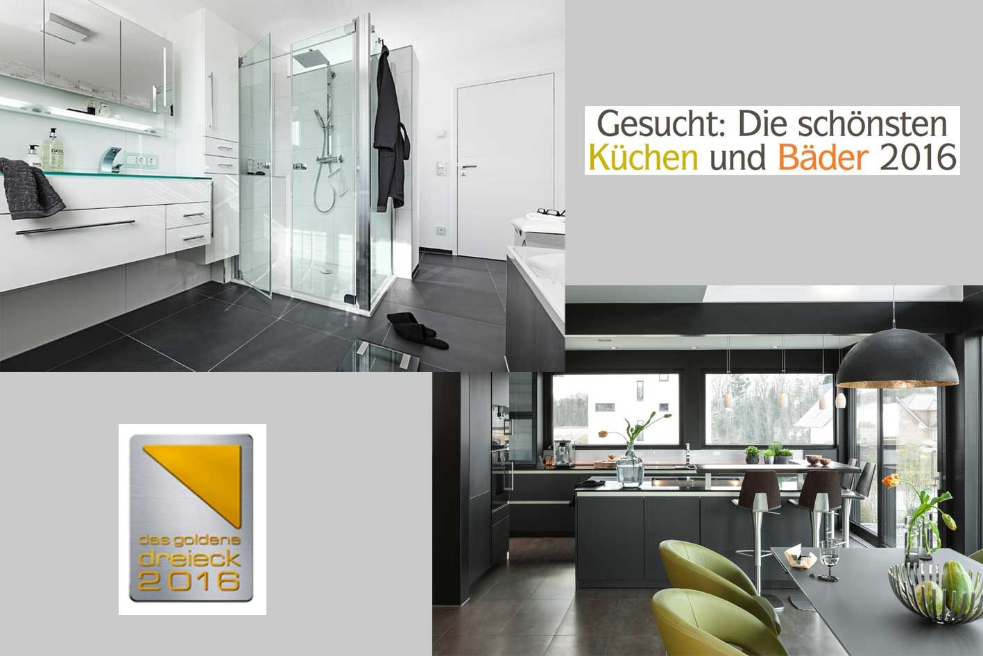 gesucht die sch nsten k chen und b der 2016 zuhause wohnen. Black Bedroom Furniture Sets. Home Design Ideas