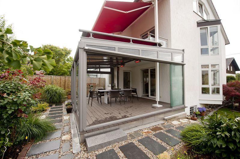 so nutzen sie ihre terrasse das ganze jahr zuhause wohnen. Black Bedroom Furniture Sets. Home Design Ideas
