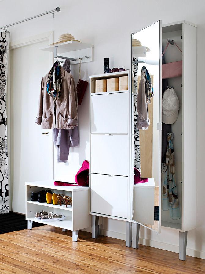 l sungen f r den eingangsbereich zuhause wohnen. Black Bedroom Furniture Sets. Home Design Ideas