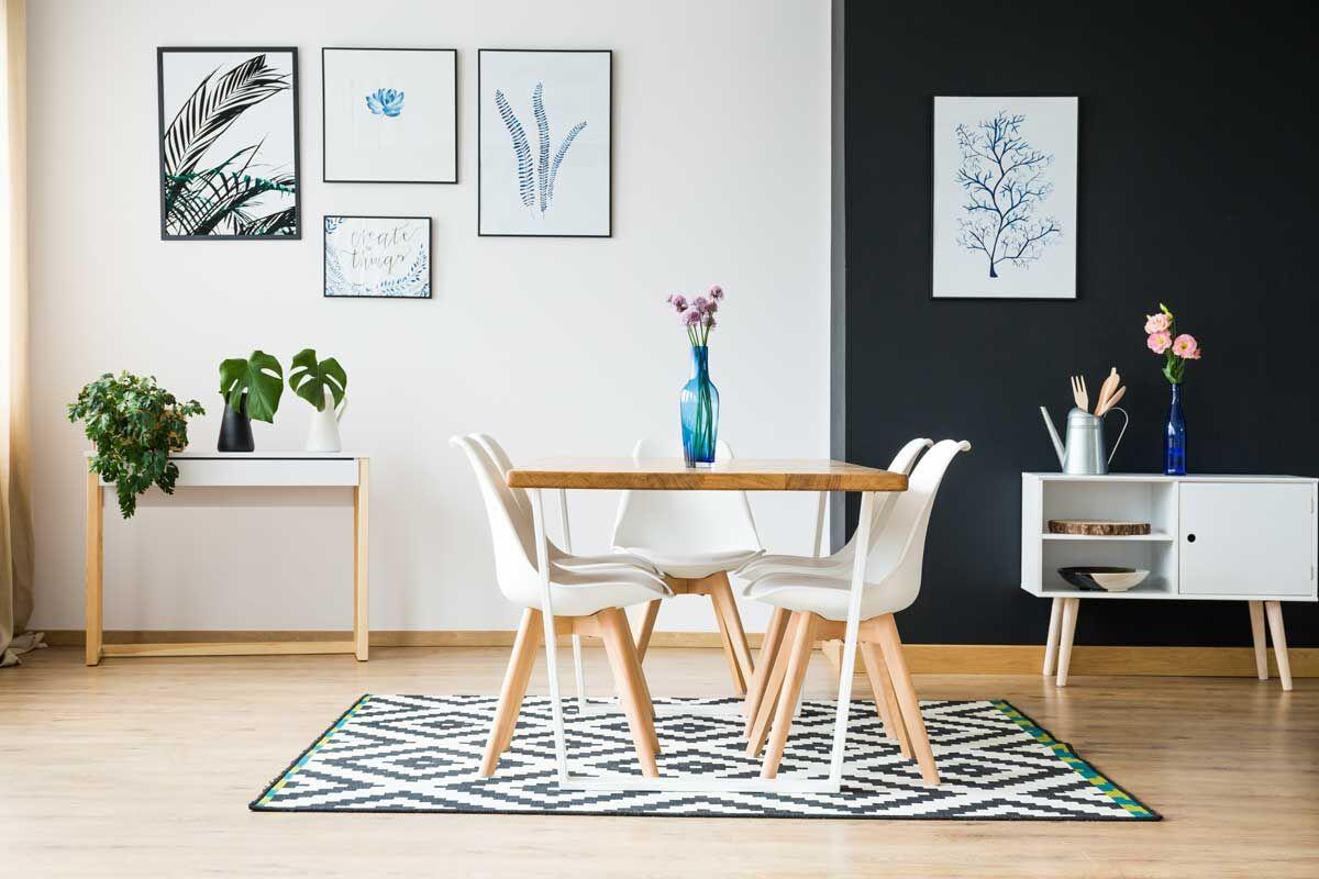 Richtige Teppichgröße wählen für Sofa, Esstisch, Wohnzimmer, Flur ...