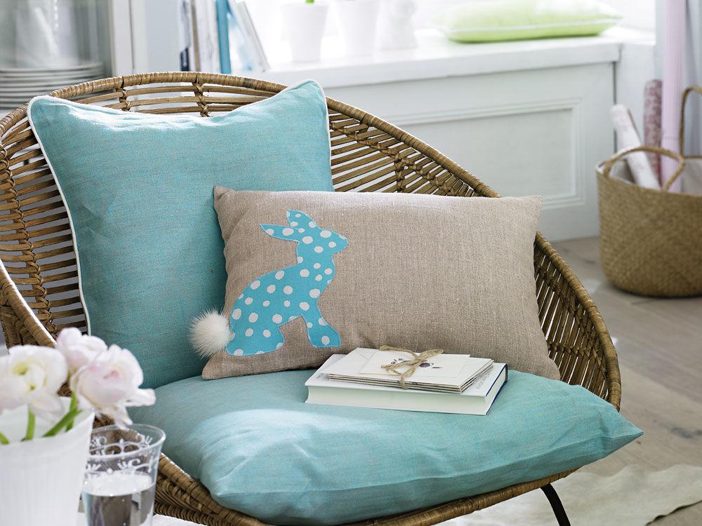 hasenkissen zuhause wohnen. Black Bedroom Furniture Sets. Home Design Ideas