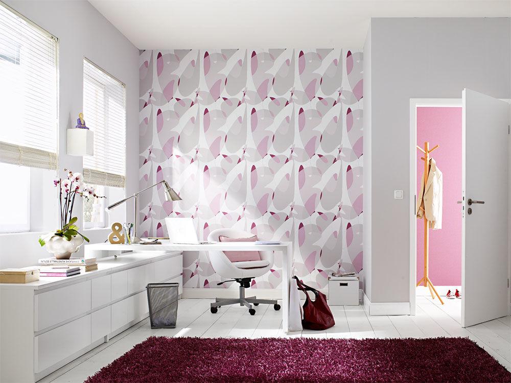 tapetenkollektion von zuhause wohnen zuhause wohnen. Black Bedroom Furniture Sets. Home Design Ideas