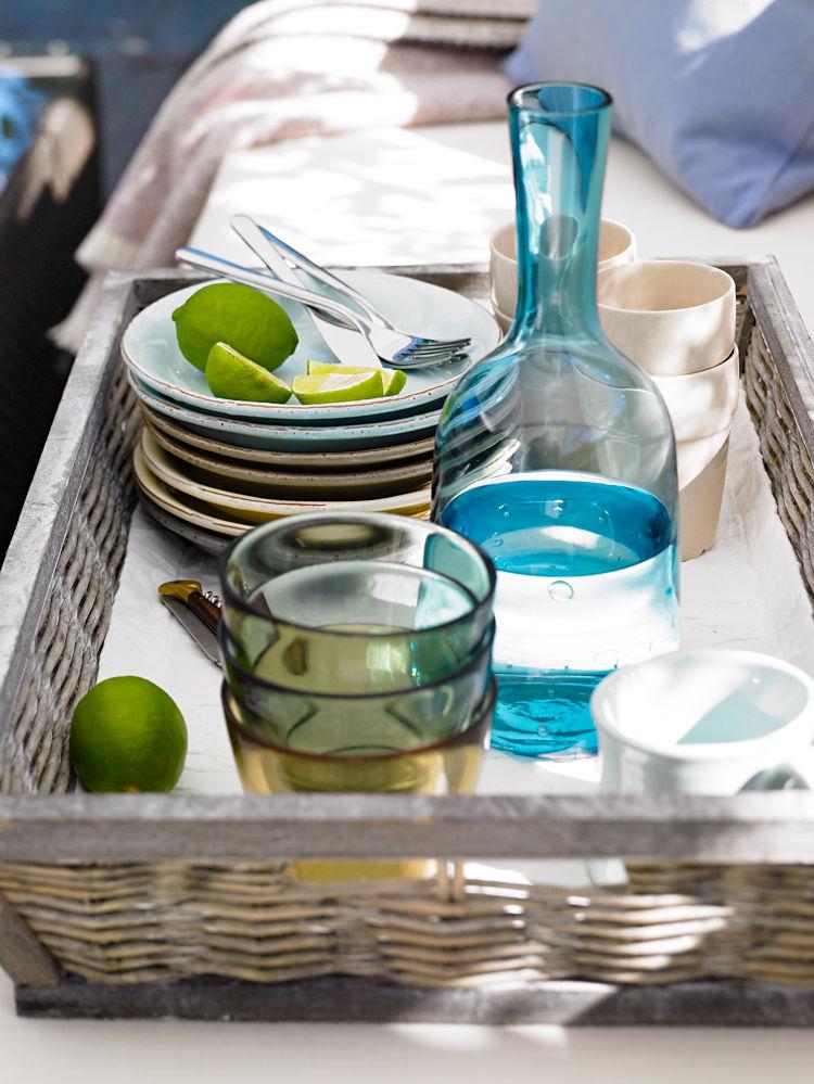 Sommerterrassen zuhause wohnen for Ikea trinkbecher