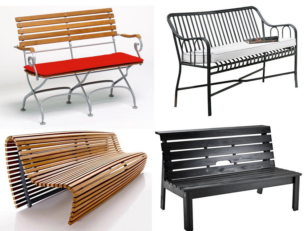 gartenb nke zuhause wohnen. Black Bedroom Furniture Sets. Home Design Ideas