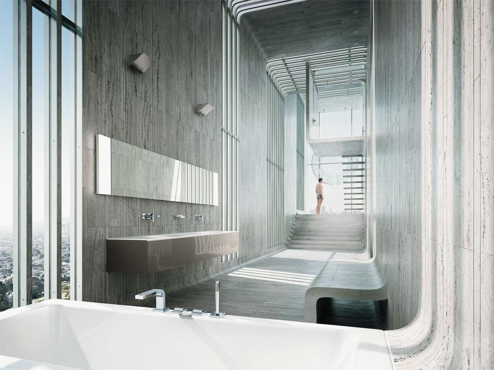Dusche Mitten Im Raum dusche mitten im raum modern badezimmer by cyrus ghanai