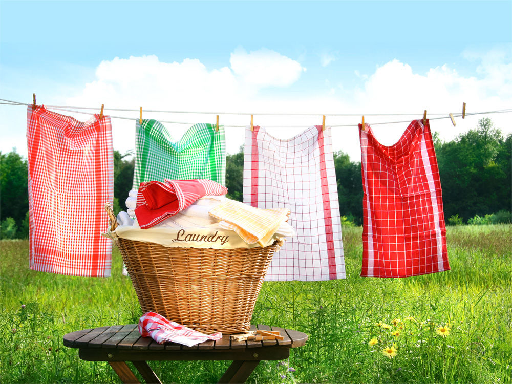 Heute ist Waschtag