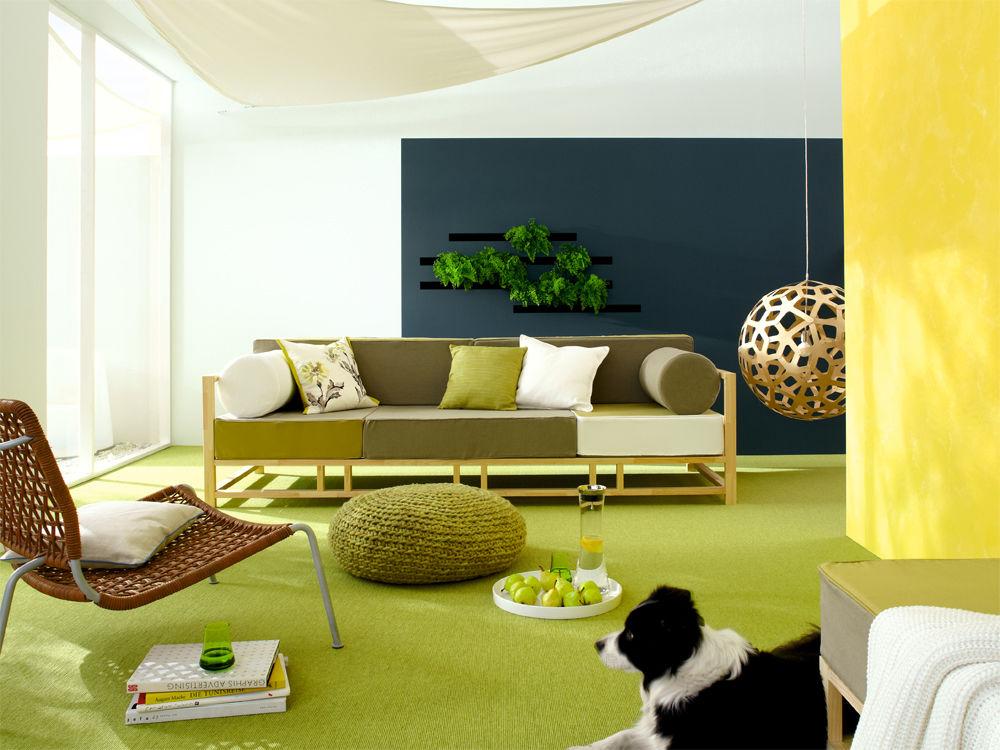 frische farben zuhause wohnen