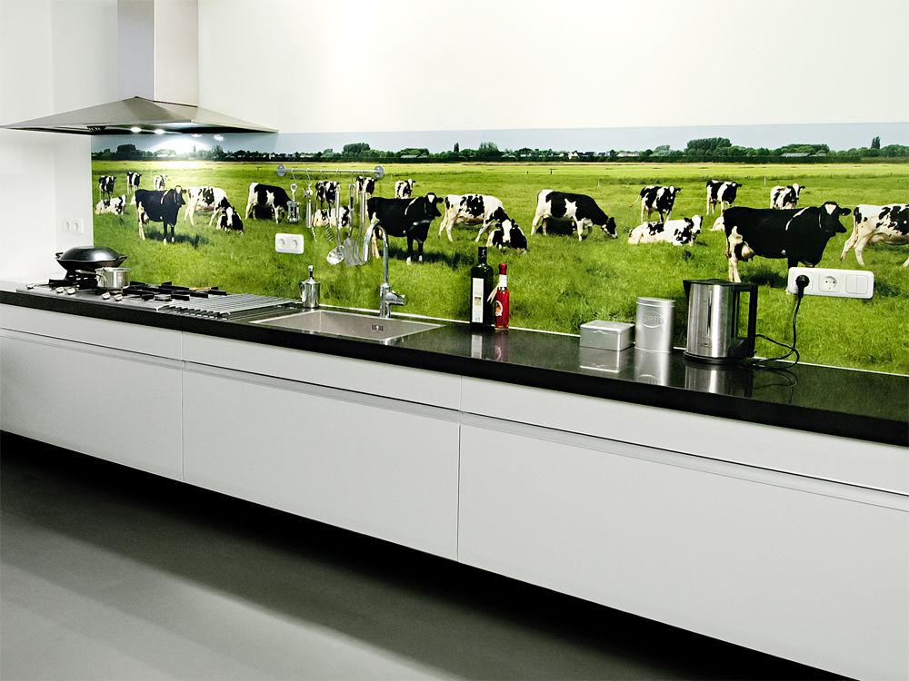 Küchenspiegel mit fototapete  Emejing Fototapete Für Küchenrückwand Photos - Ideas & Design ...