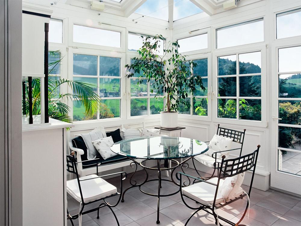 Anbau Aus Glas | Zuhause Wohnen Wintergarten Zum Wohnen Anbau Idee