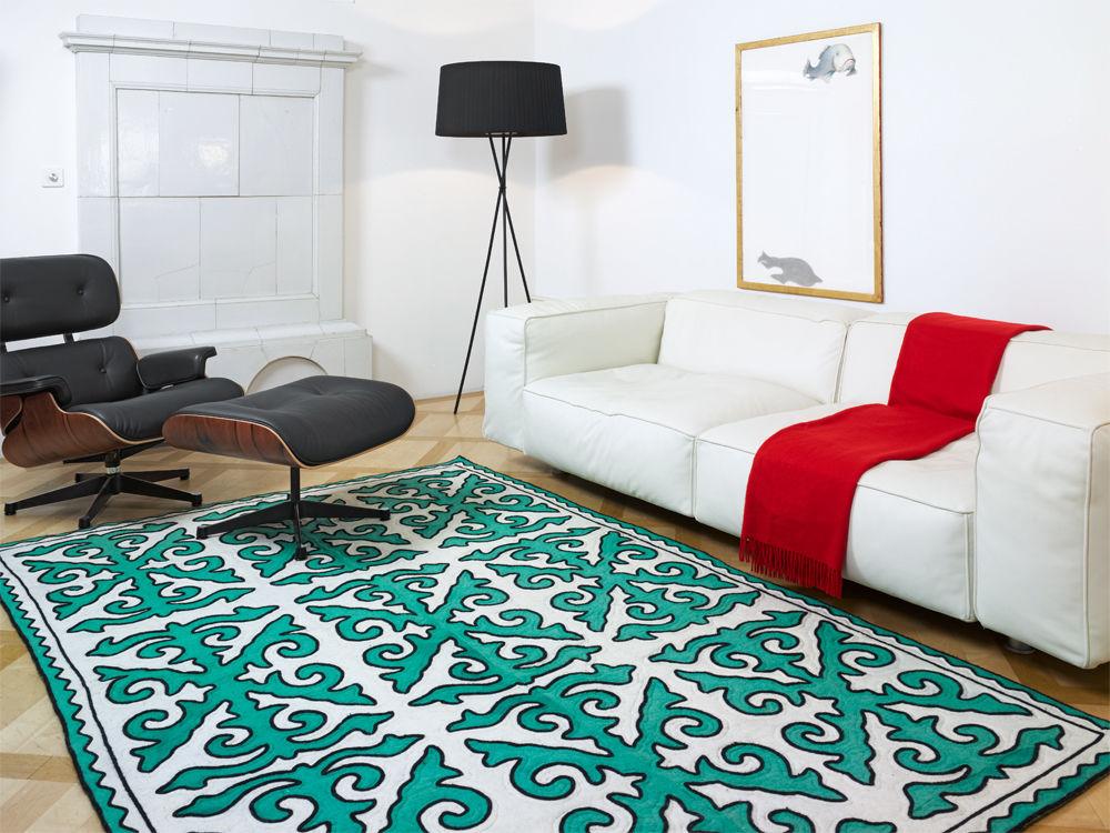 Aktuelle teppichdessins zuhause wohnen for Aktuelle trendfarben wohnen