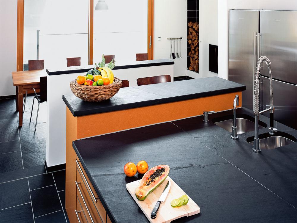naturstein schiefer zuhause wohnen. Black Bedroom Furniture Sets. Home Design Ideas