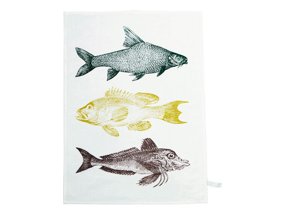 Geschirrtuch Fisch