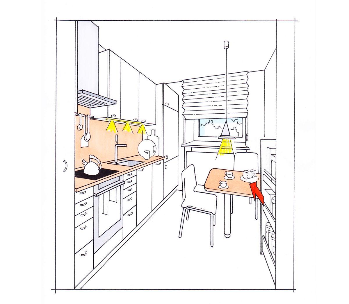ideen f r mehr platz und funktionalit t in jeder k che zuhause wohnen. Black Bedroom Furniture Sets. Home Design Ideas