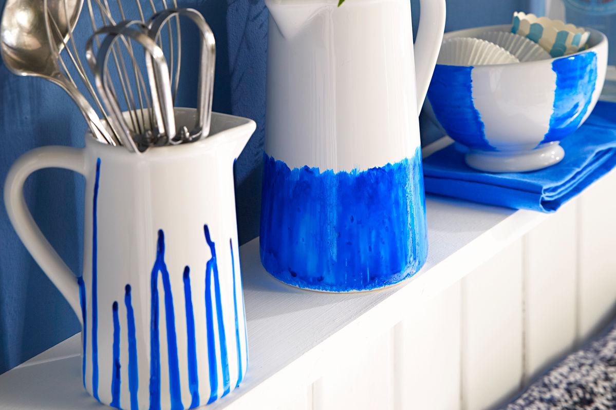 Blaues Porzellan