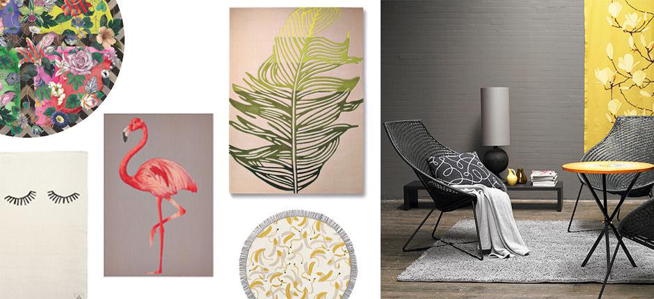 bunte bettw sche zuhause wohnen. Black Bedroom Furniture Sets. Home Design Ideas