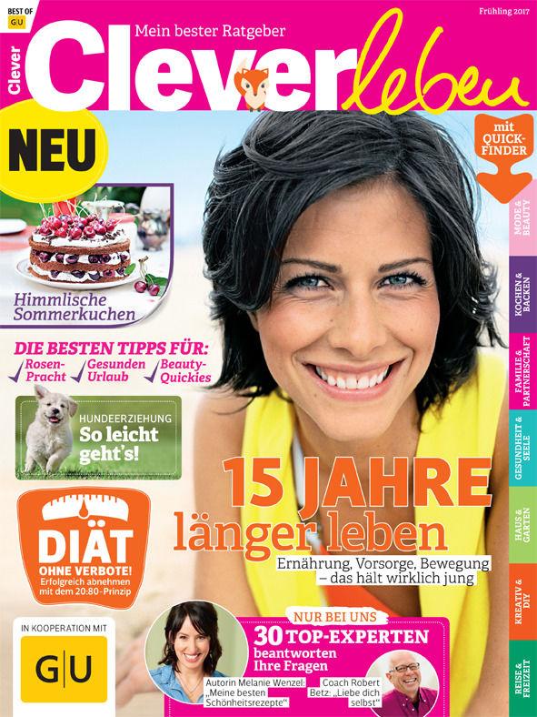 """Das neue Heft """"Clever leben"""""""