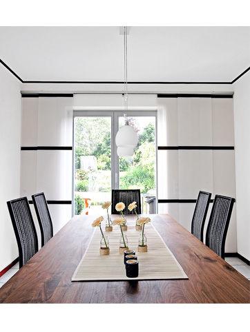 grafische muster zuhause wohnen. Black Bedroom Furniture Sets. Home Design Ideas