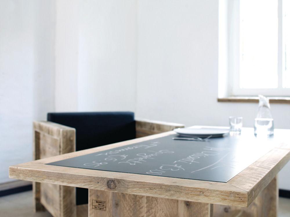 Tisch Bauholz Design